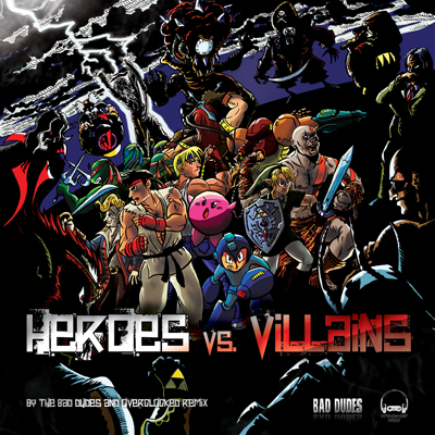 Heroes vs. Villains remix album