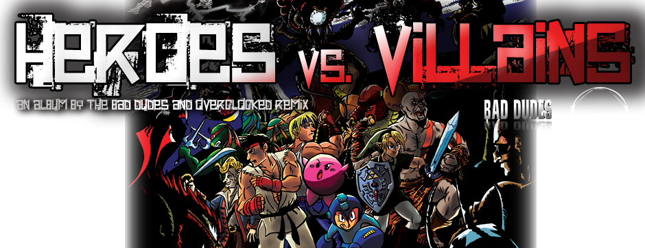 Heroes vs. Villains remix project